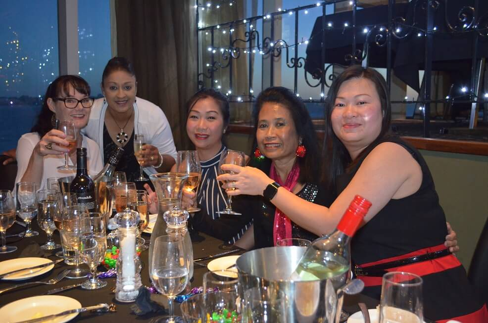 Christmas Parties on the Swan river