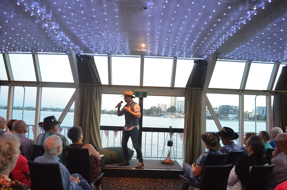 Bush Poetry on a Swan River Cruise