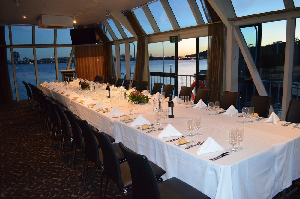 Boardroom Style Dinner Cruise