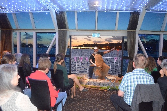 Dreamtime Storytelling on the Derbarl Yerrigan or Swan River